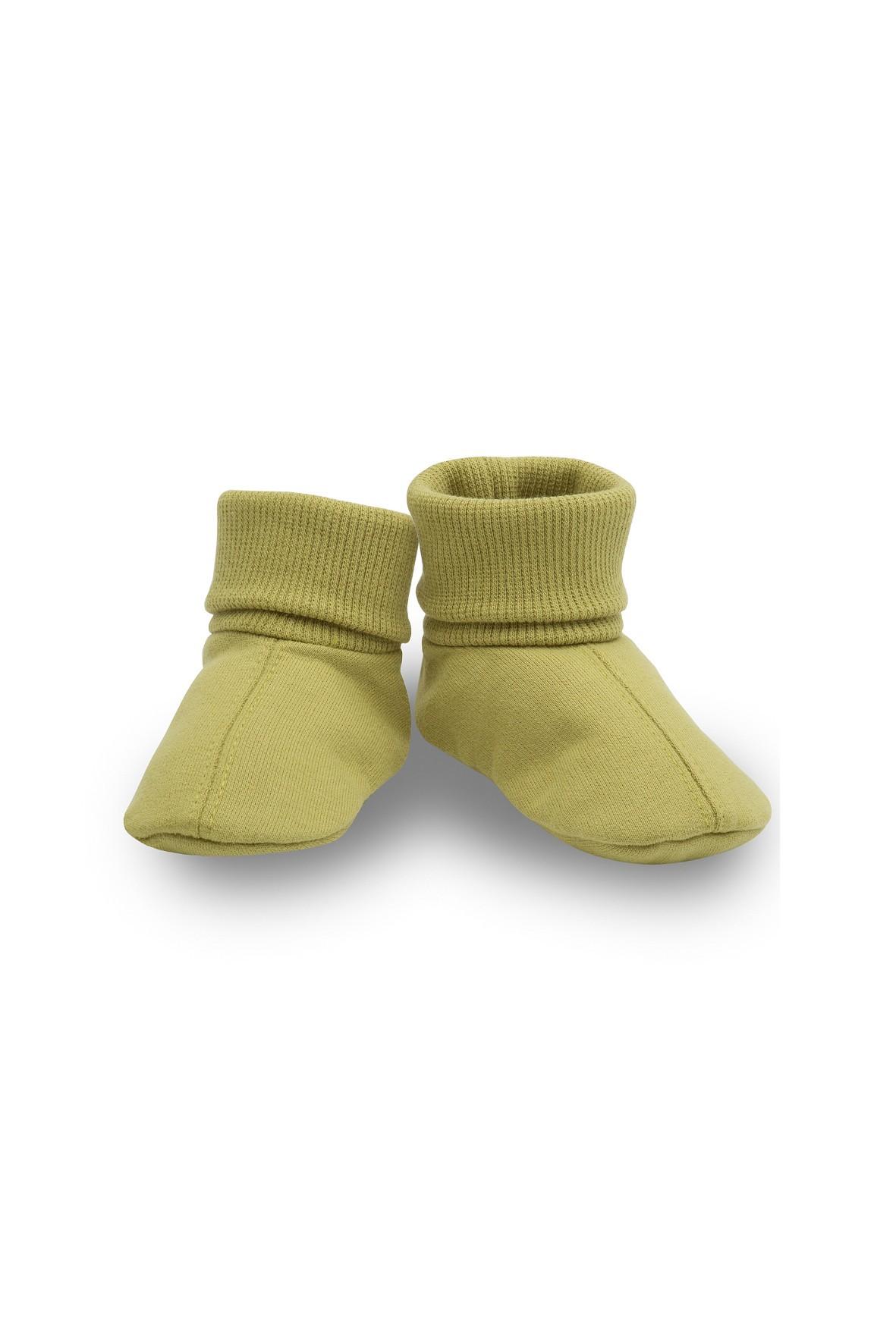 Buciki bawełniane- STAY GREEN