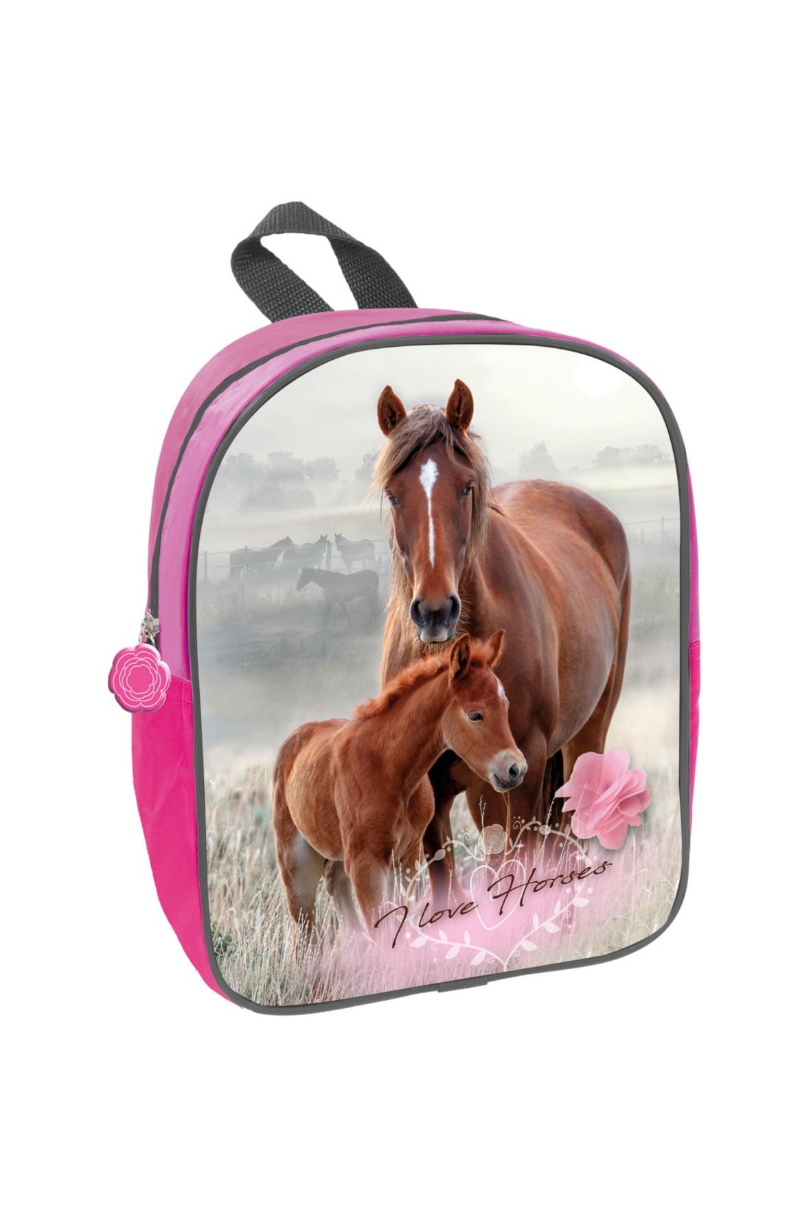 Plecak dla przedszkolaka Konie