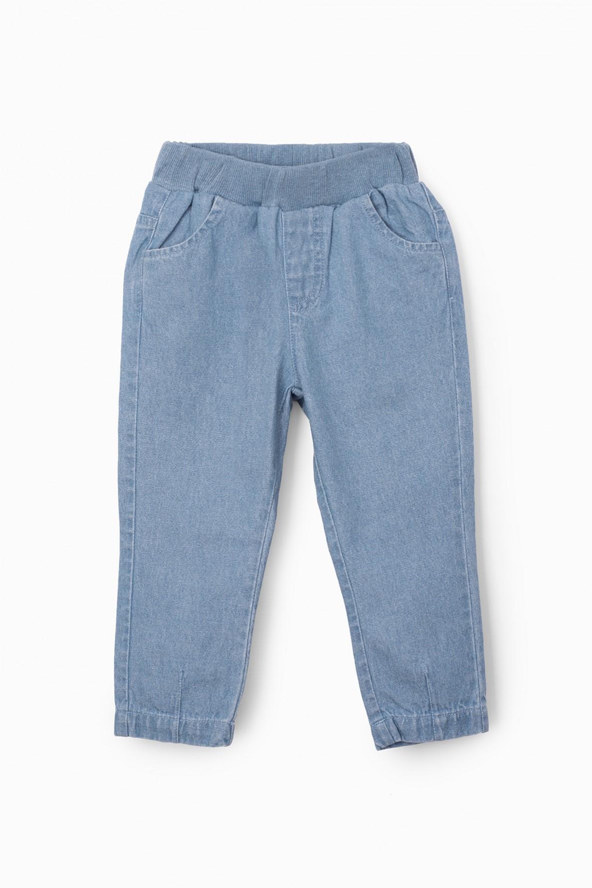 Spodnie niemowlęce jeansowe- niebieskie