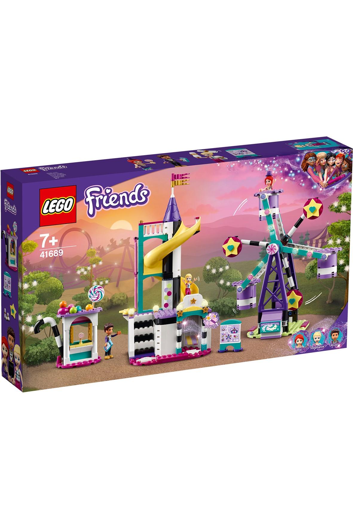 LEGO® Friends Magiczny diabelski młyn i zjeżdżalnia - 545 elementów wiek 7+