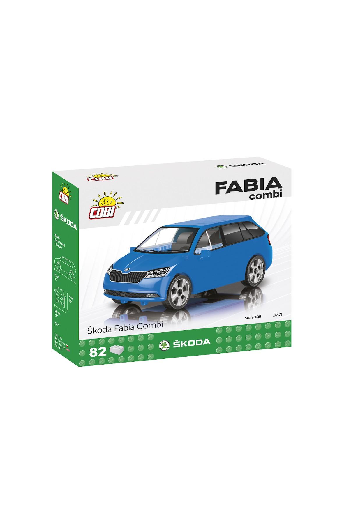 Klocki Cobi Cars Skoda Fabia Combi 2019 82el