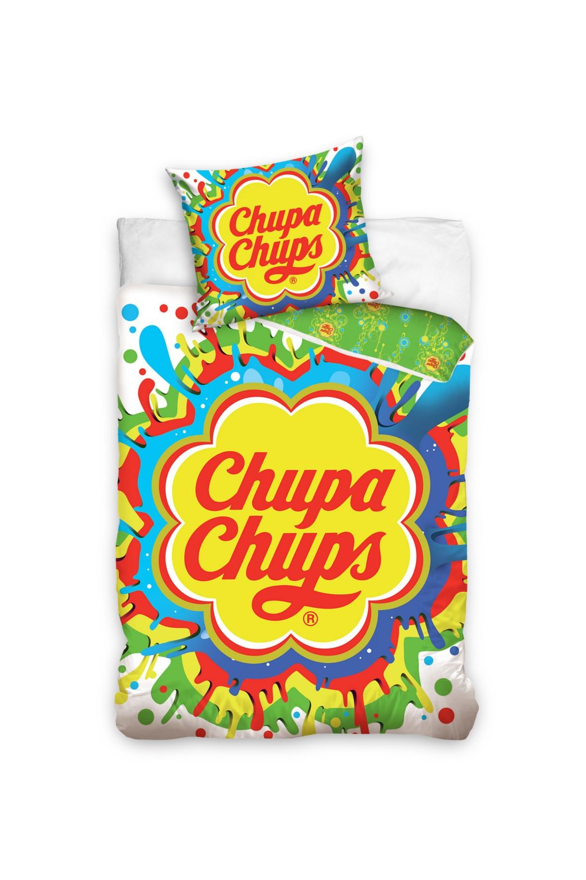 Kpl. pościeli bawełnianej 160x200+70x80 cm                    Chupa Chups       CHUPA195005
