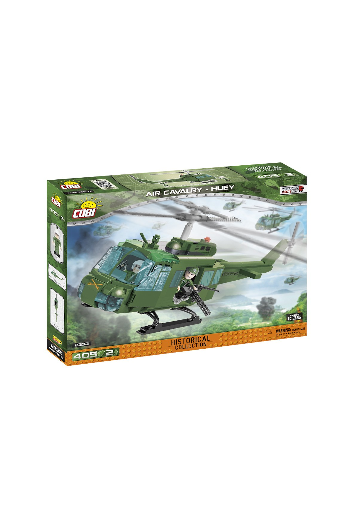 Klocki Cobi Helikopter Air Cavalry- 407el
