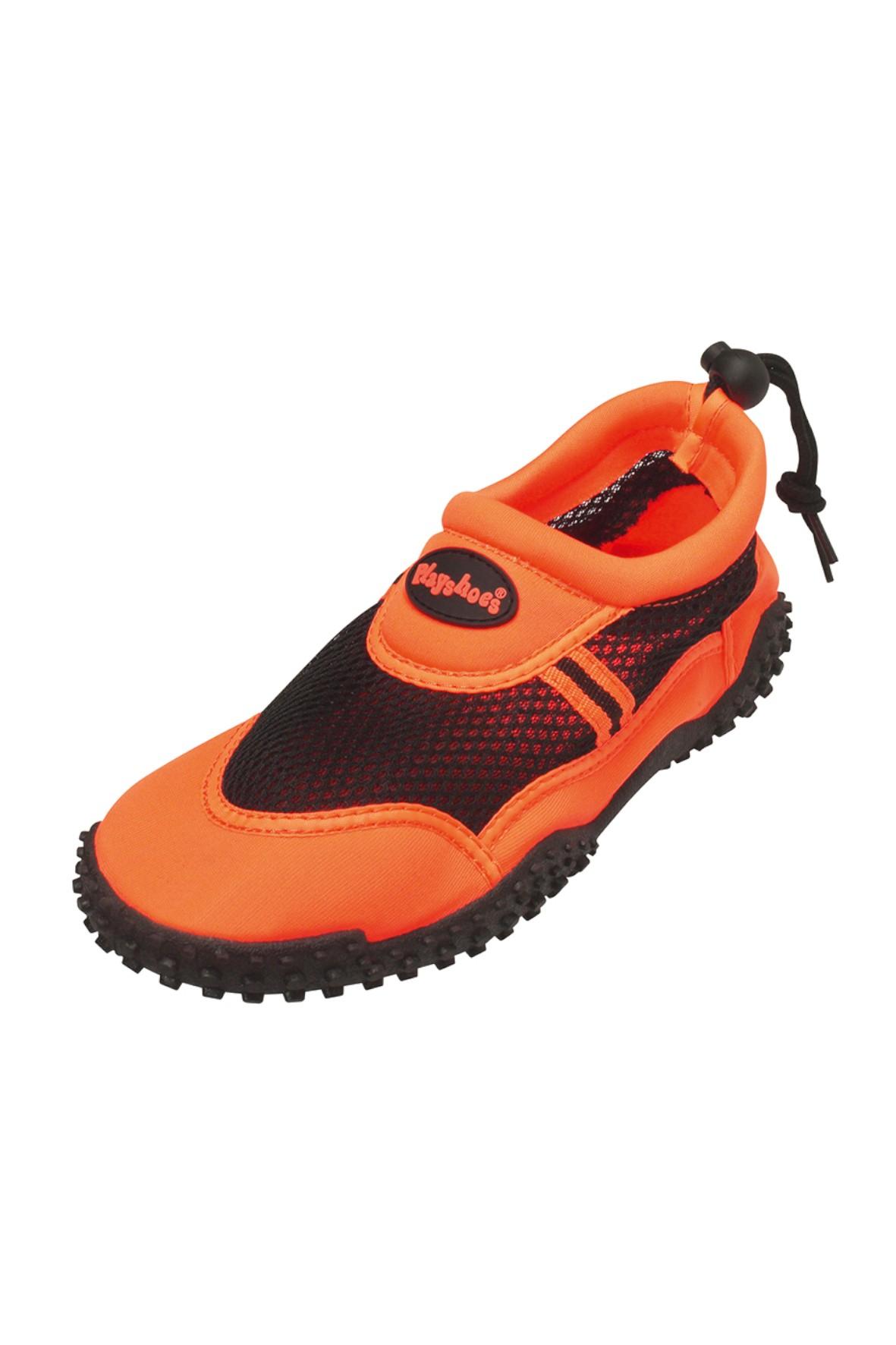 Buty kąpielowe pomarańczowe