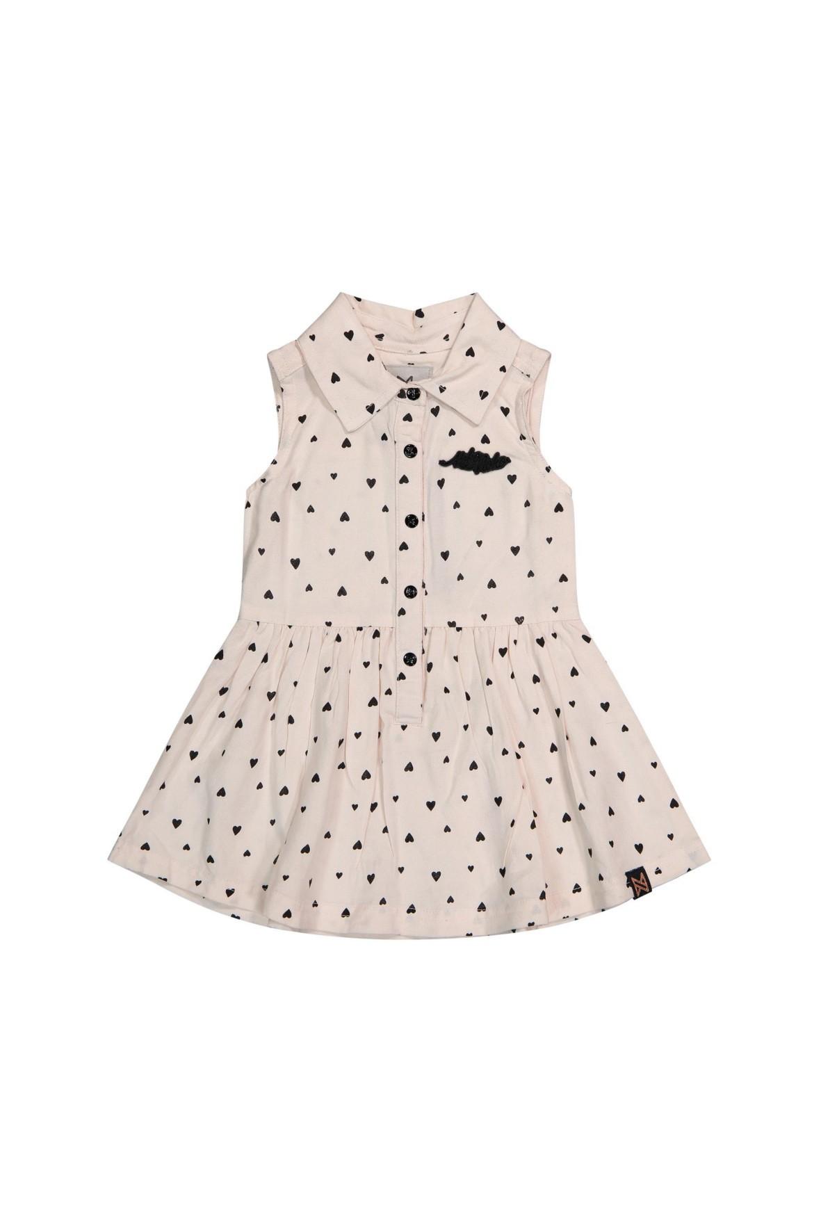Sukienka niemowlęca na lato w serduszka