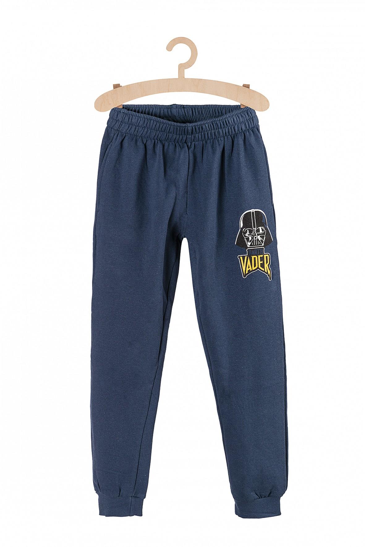 Spodnie chłopięce dresowe Star Wars- granatowe
