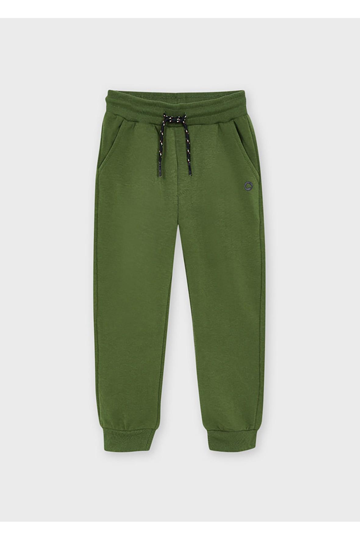 Długie chłopięce spodnie dresowe Mayoral - zielone
