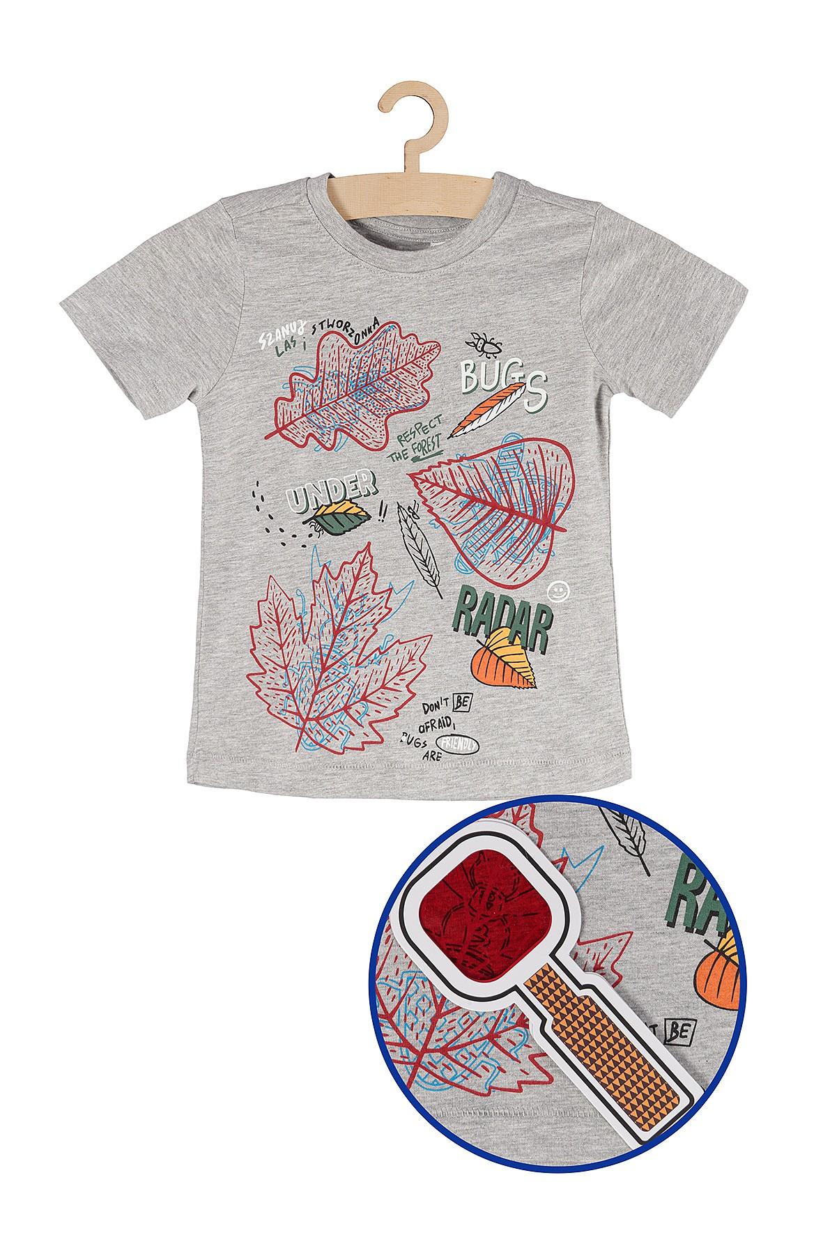 Koszulka chłopięca z lupą NOWOŚĆ