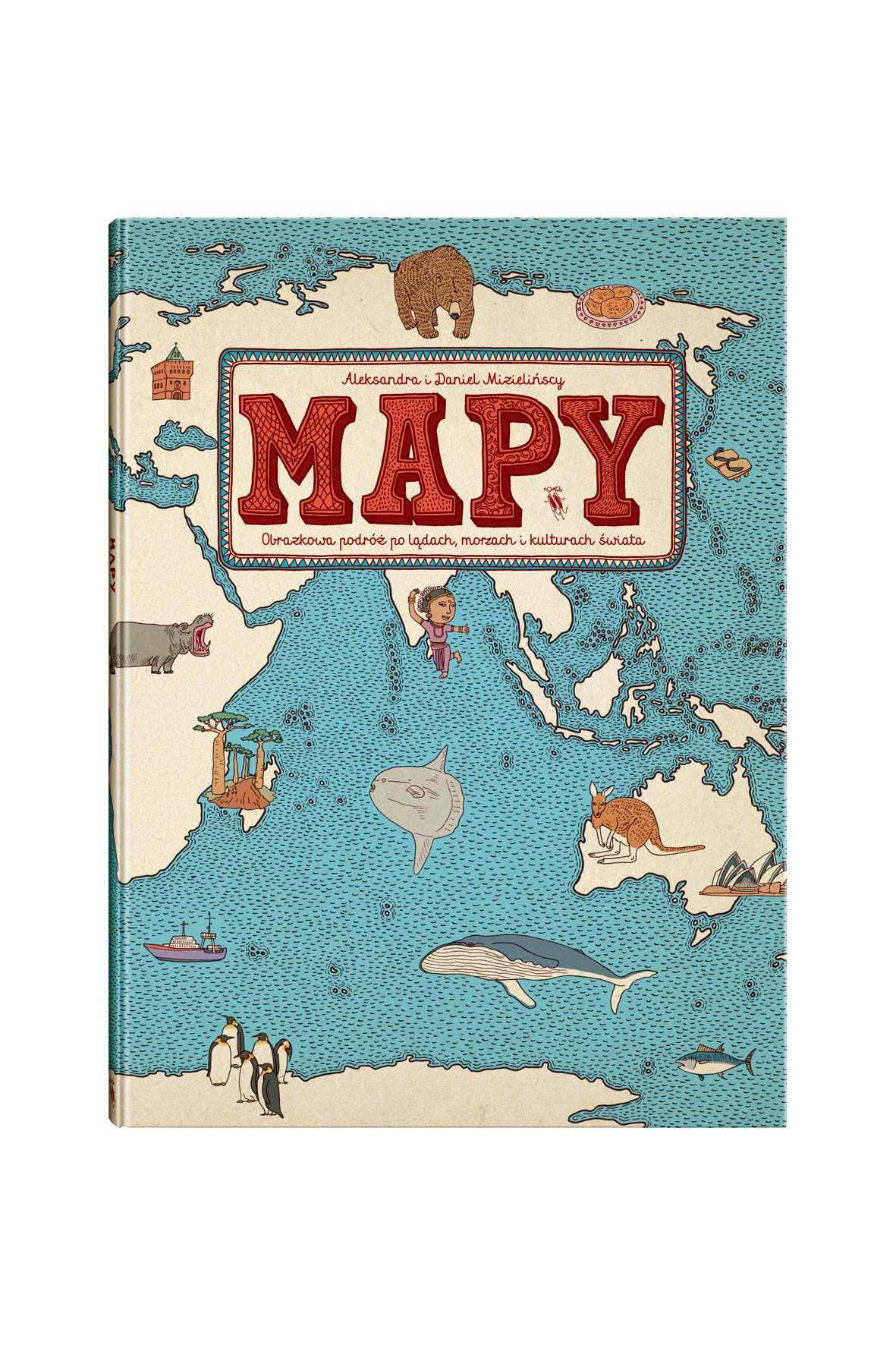 """Książka """"Mapy"""""""