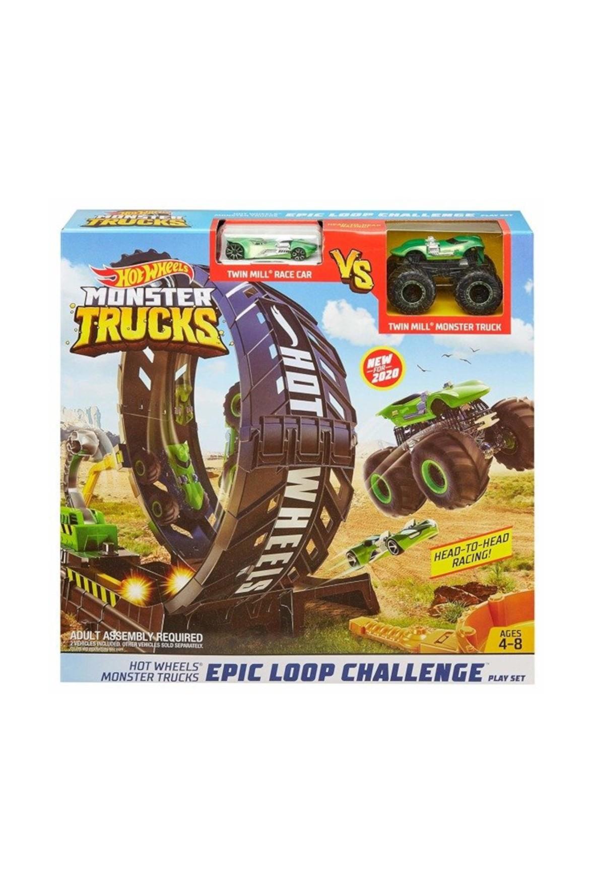 Hot Wheels Monster Truck - pętla i pojazd wiek 4+