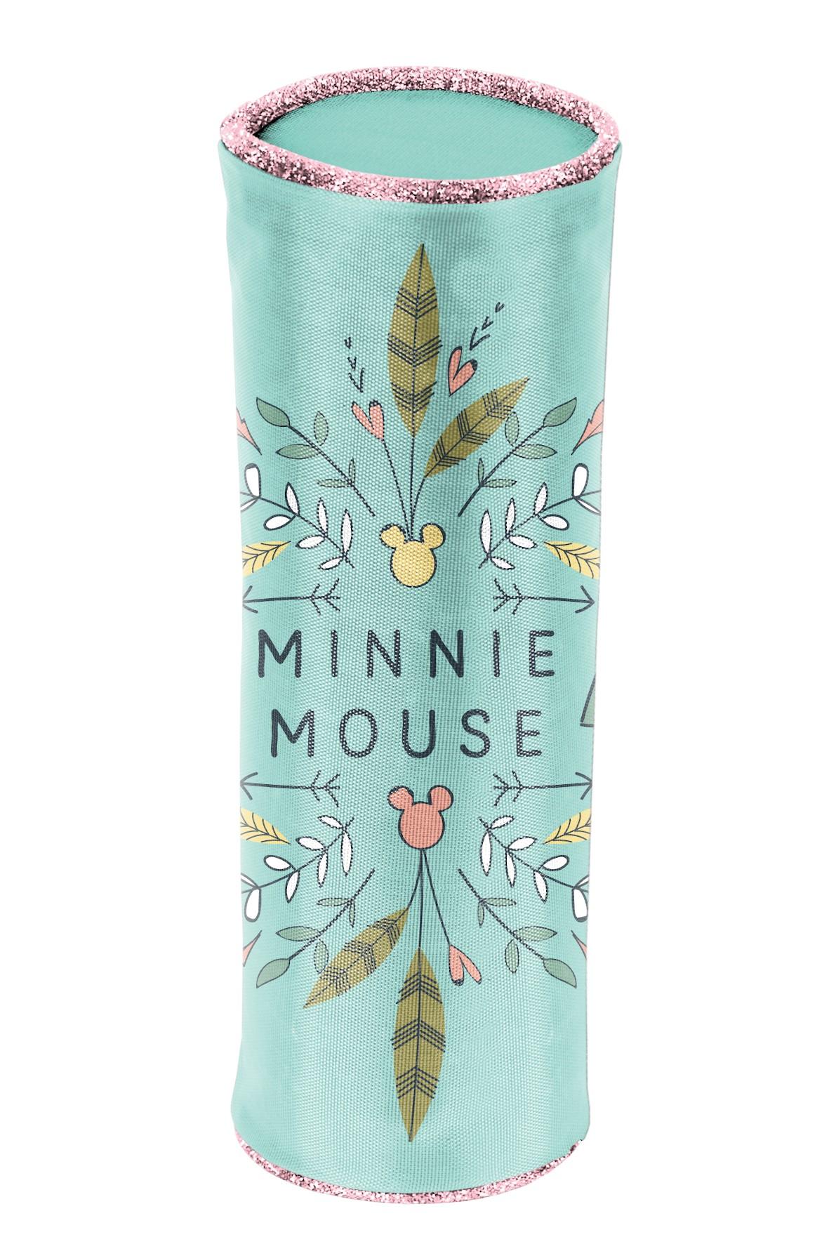 Piórnik szkolny- tuba Myszka Minnie