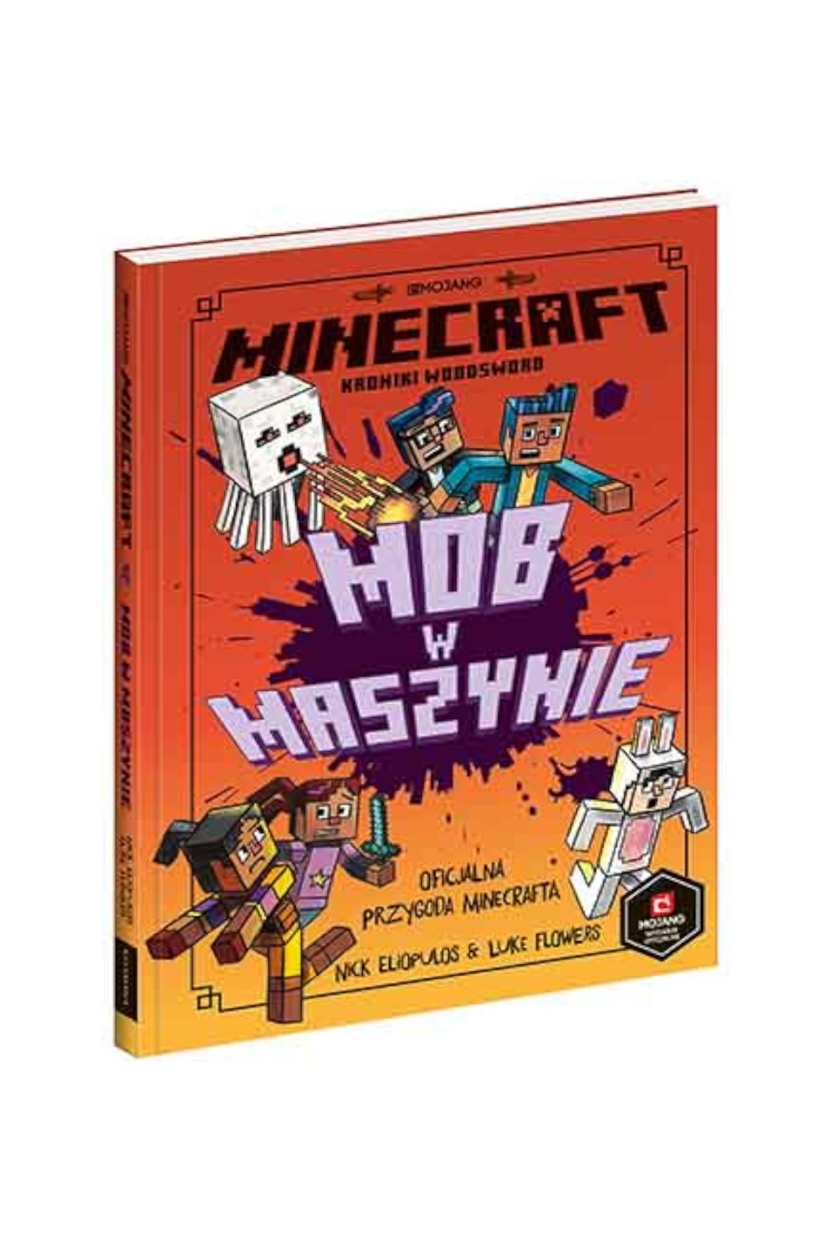 Książka dziecięca - Minecraft. Mob w maszynie Książka dziecięca
