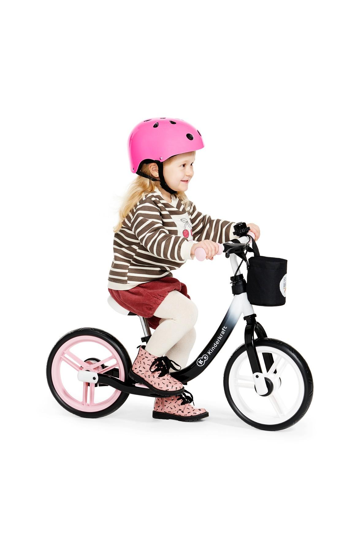 Kinderkraft rowerek biegowy Space-różowy