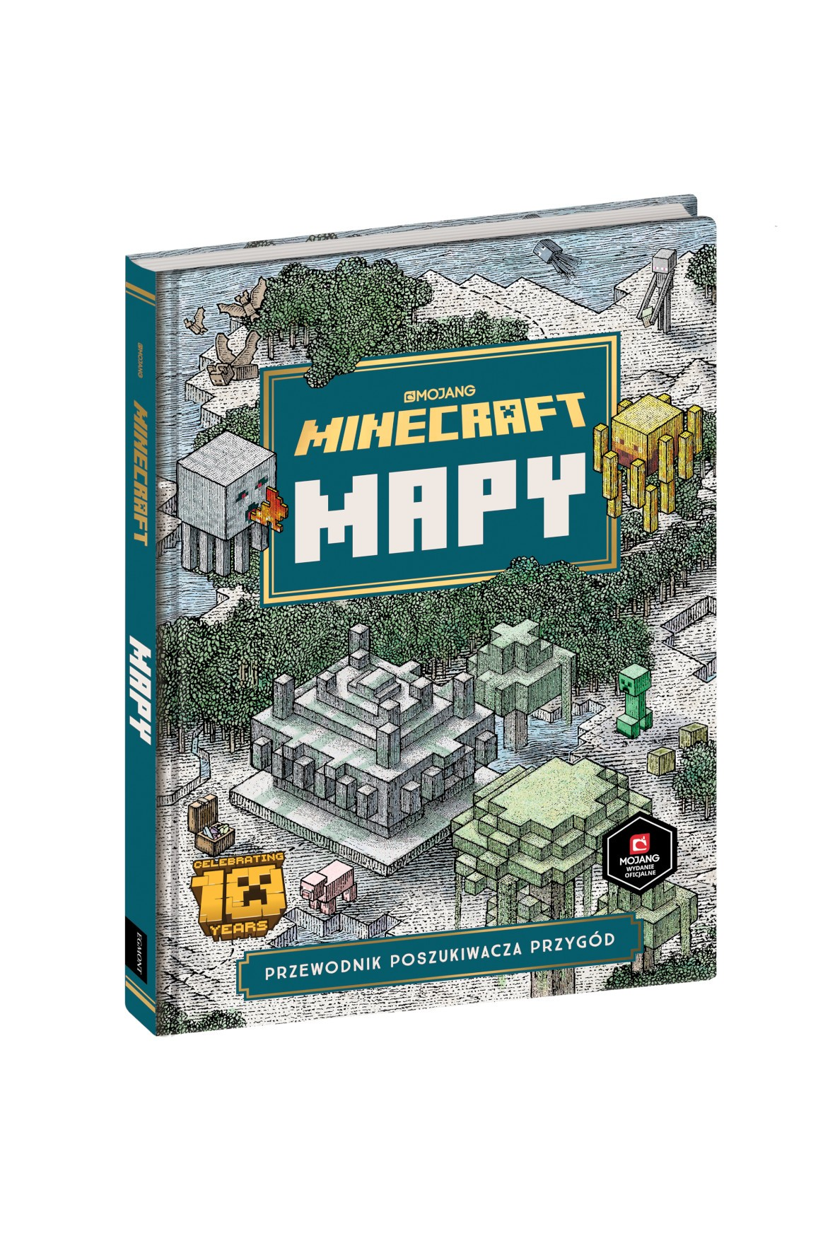 Minecraft. Mapy- przewodnik poszukiwaczy przygód