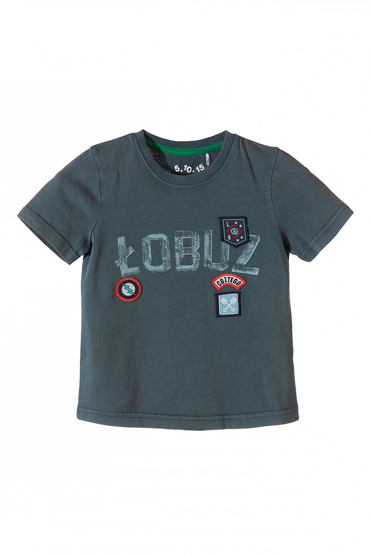T-shirt chłopięcy z polskim napisem
