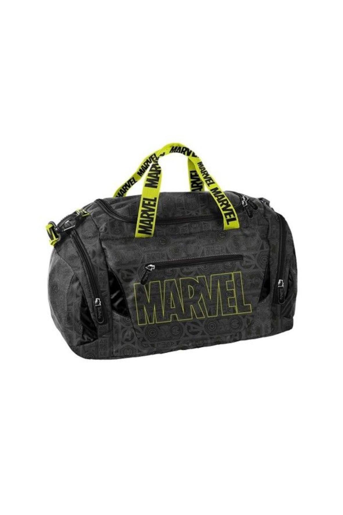 Torba sportowa Marvel czarno-żółty