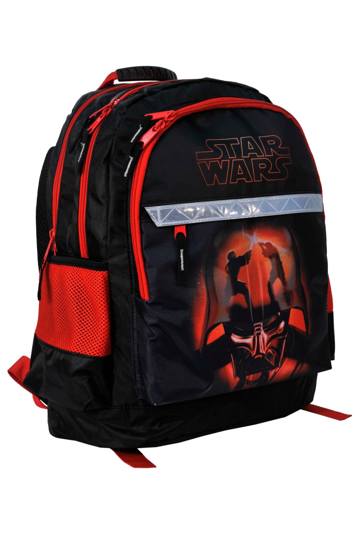 Plecak szkolny Star Wars z elementami odblaskowymi