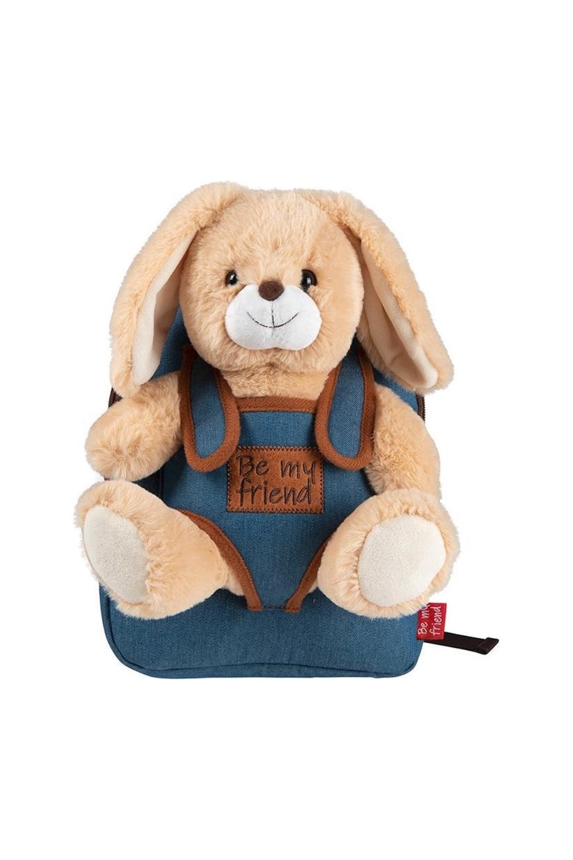 Plecak Denim z przytulanką - Dany Pies wiek 2+