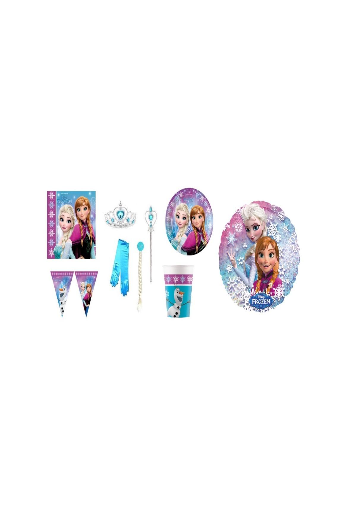 Zestaw urodzinowy Frozen  - 39 elementów