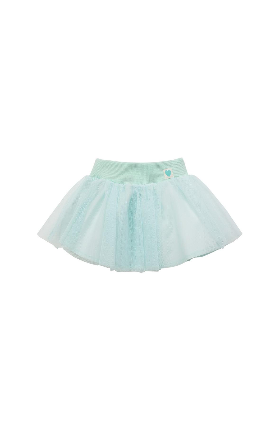 Spódnica tiulowa niebieska