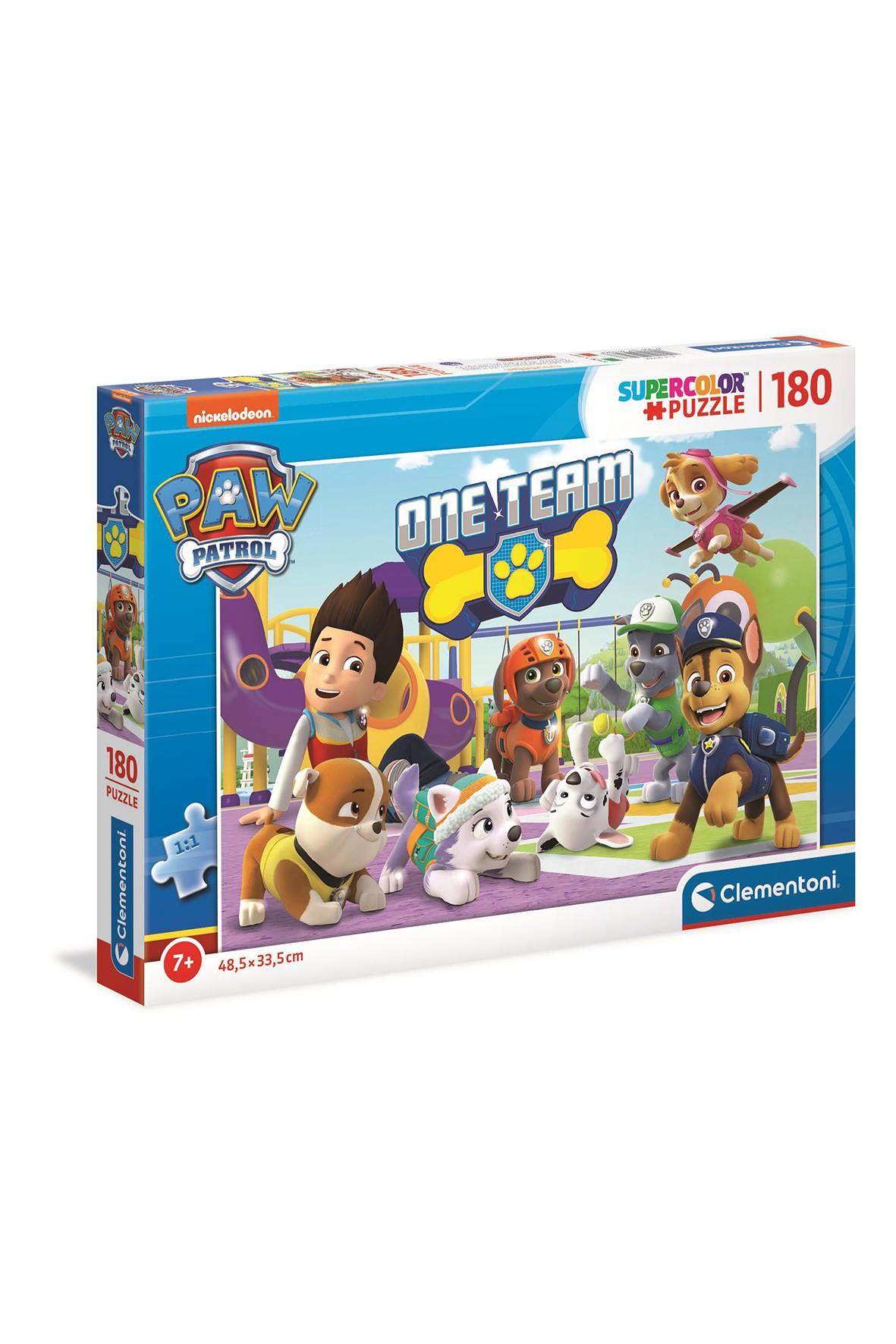 Puzzle  Super Color Psi Patrol  - 180 elementów wiek 7+