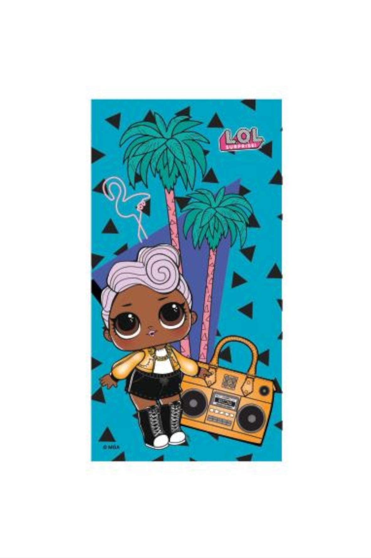 Ręcznikkapielowy dla dziewczynki L.O.L 70x140cm