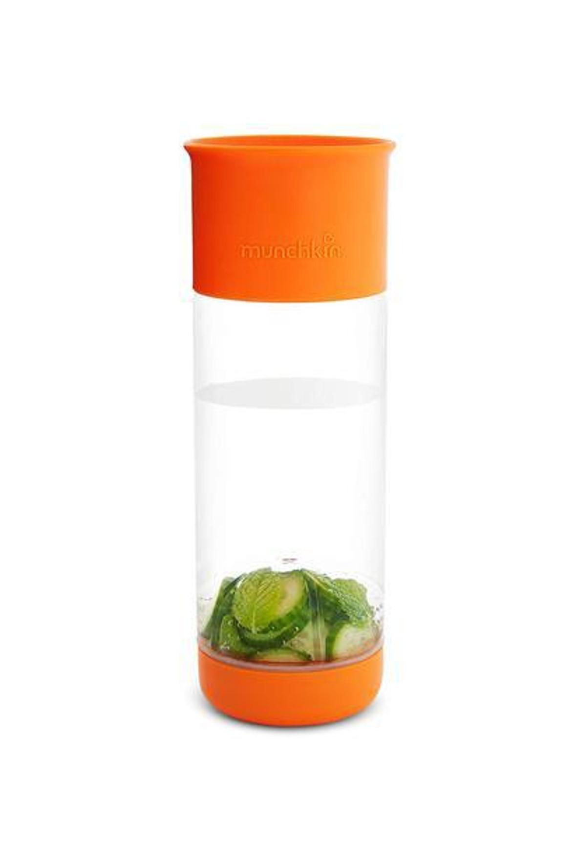 Kubek 360 z wkładem na owoce 590ml - pomarańczowy
