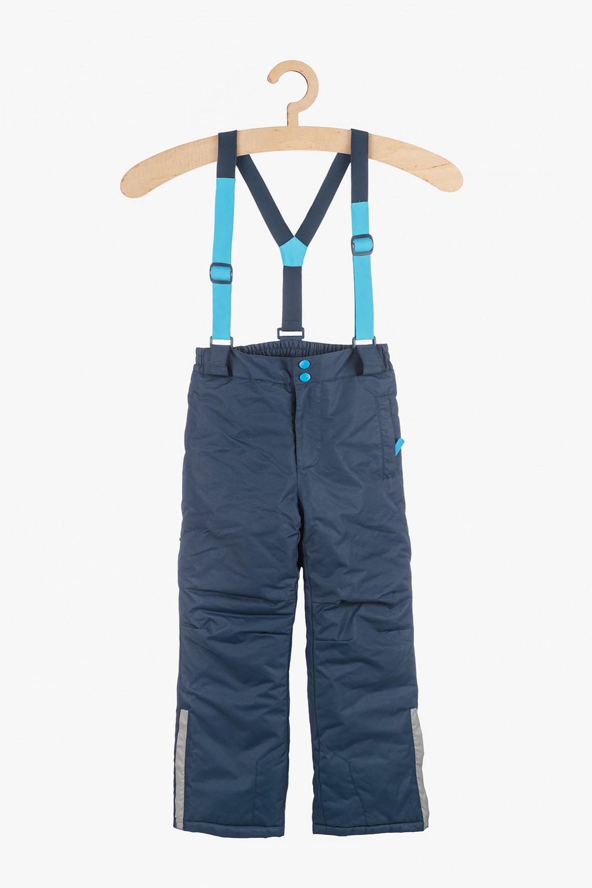 Spodnie narciarskie z elementami odblaskowymi