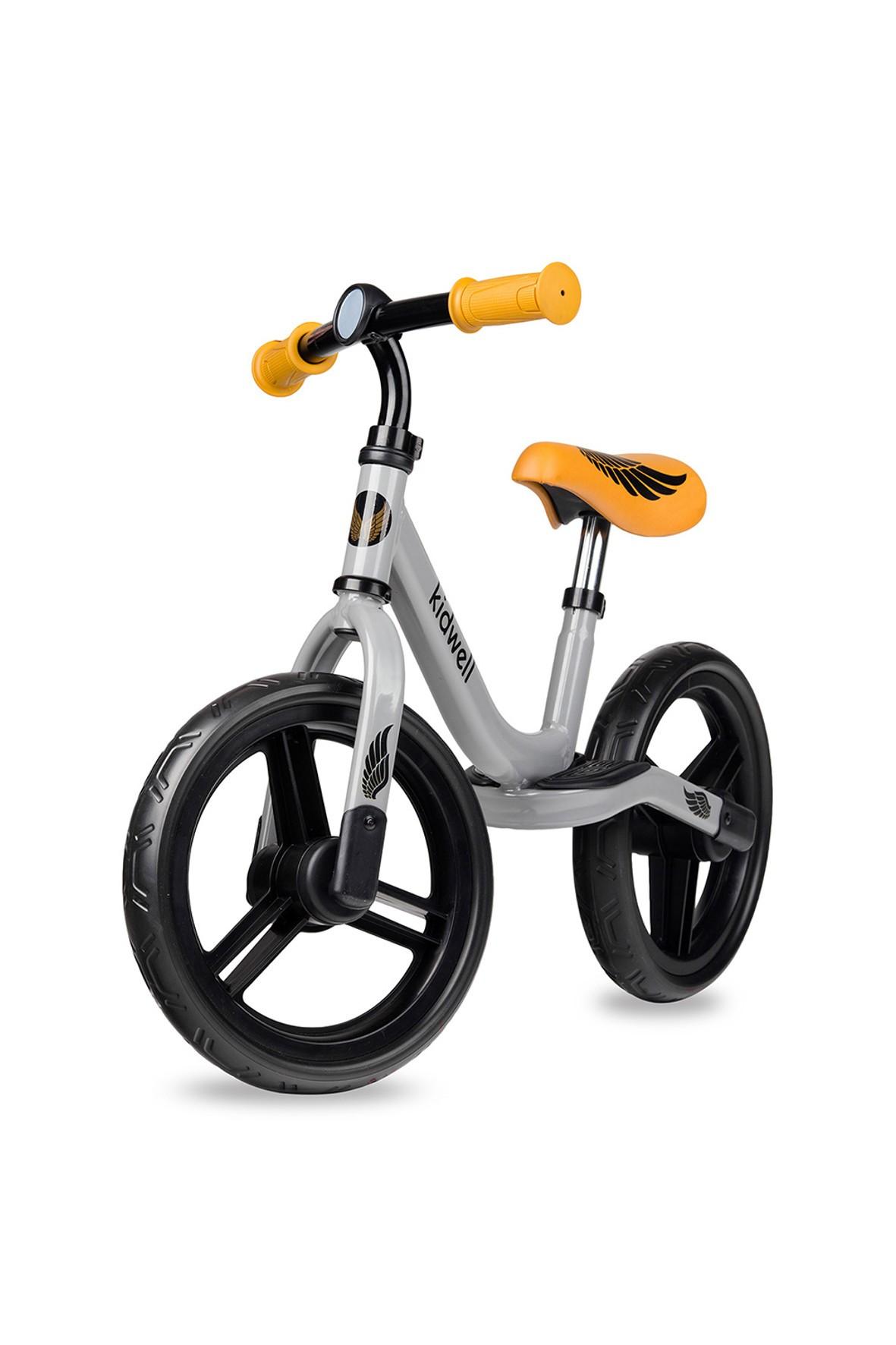 Rower dziecięcy Sparrow srebrno - pomarańczowy