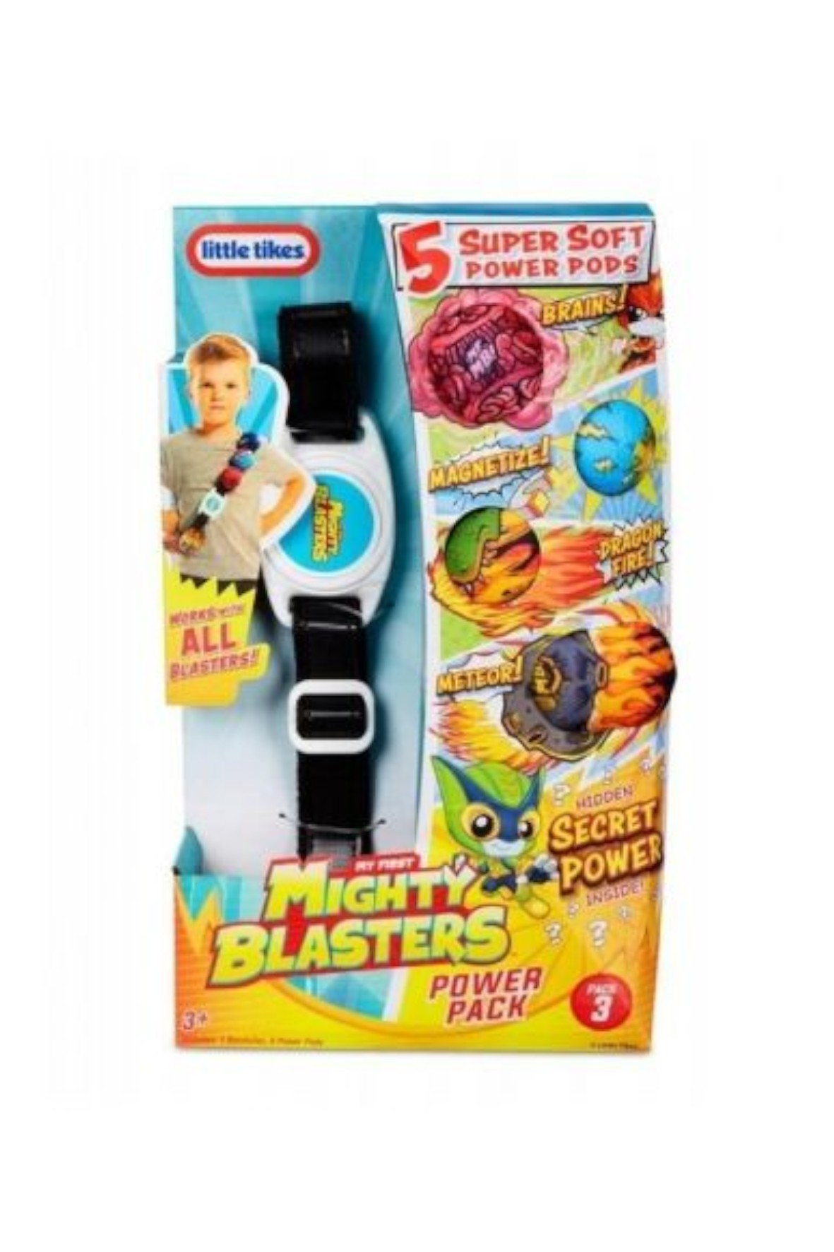 Miotacz My First Mighty Blasters Power Pack- Style 3