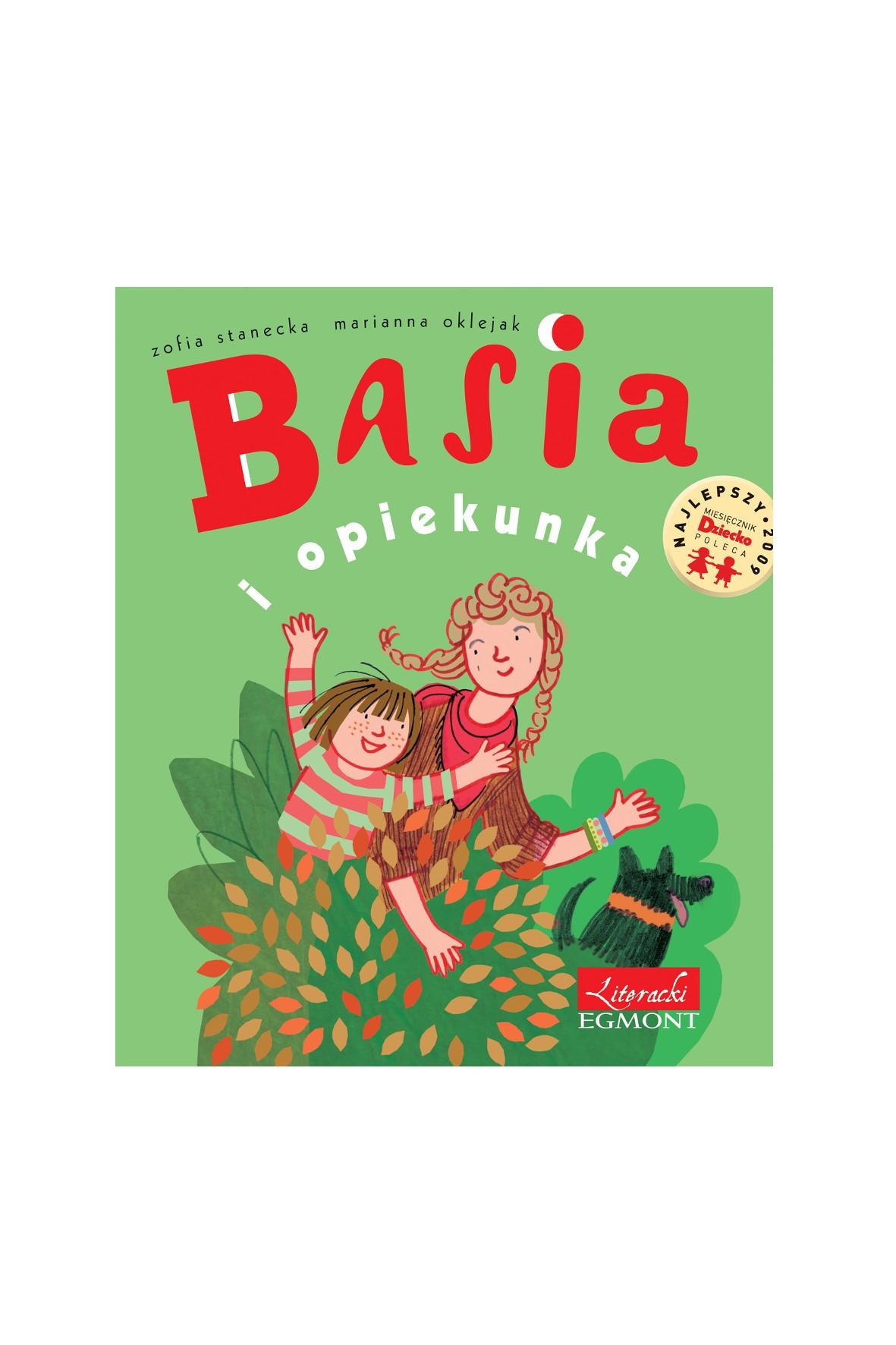 """Książka """"Basia i opiekunka"""""""