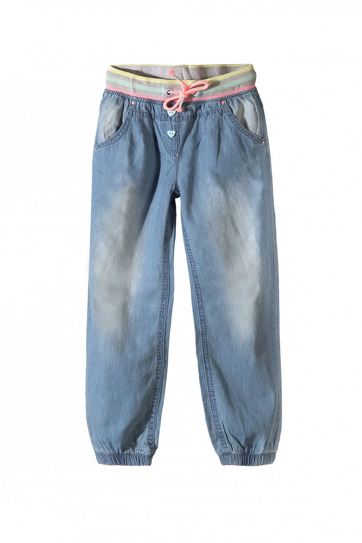 Spodnie dziewczęce 100% bawełna