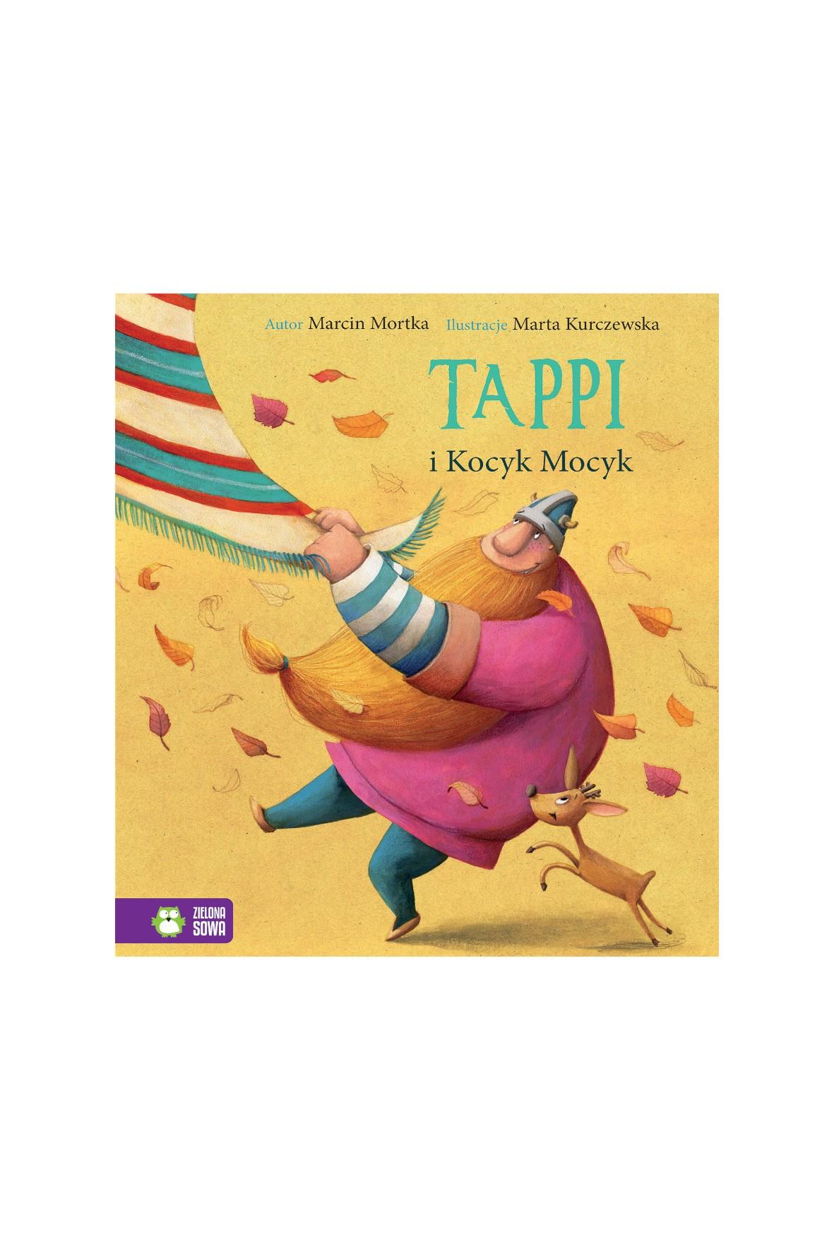 Książka dla dzieci- Tappi i Kocyk Mocyk wiek 4+