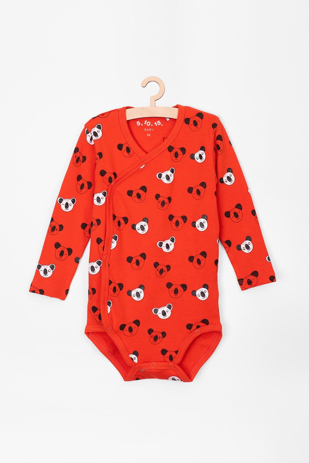 Body kopertowe dla niemowlaka- panda