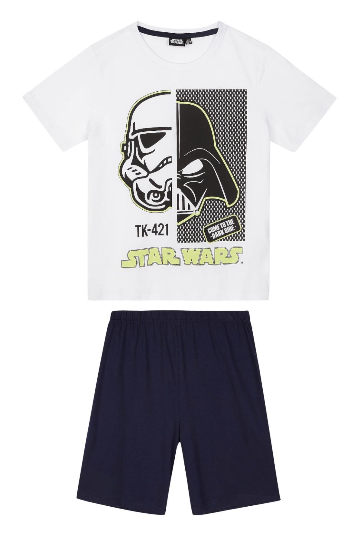 Piżama chłopięca Star Wars- nadruk świecący w ciemności