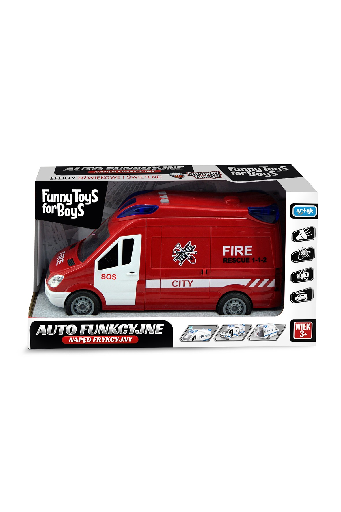auto straż pożarna toys for boys