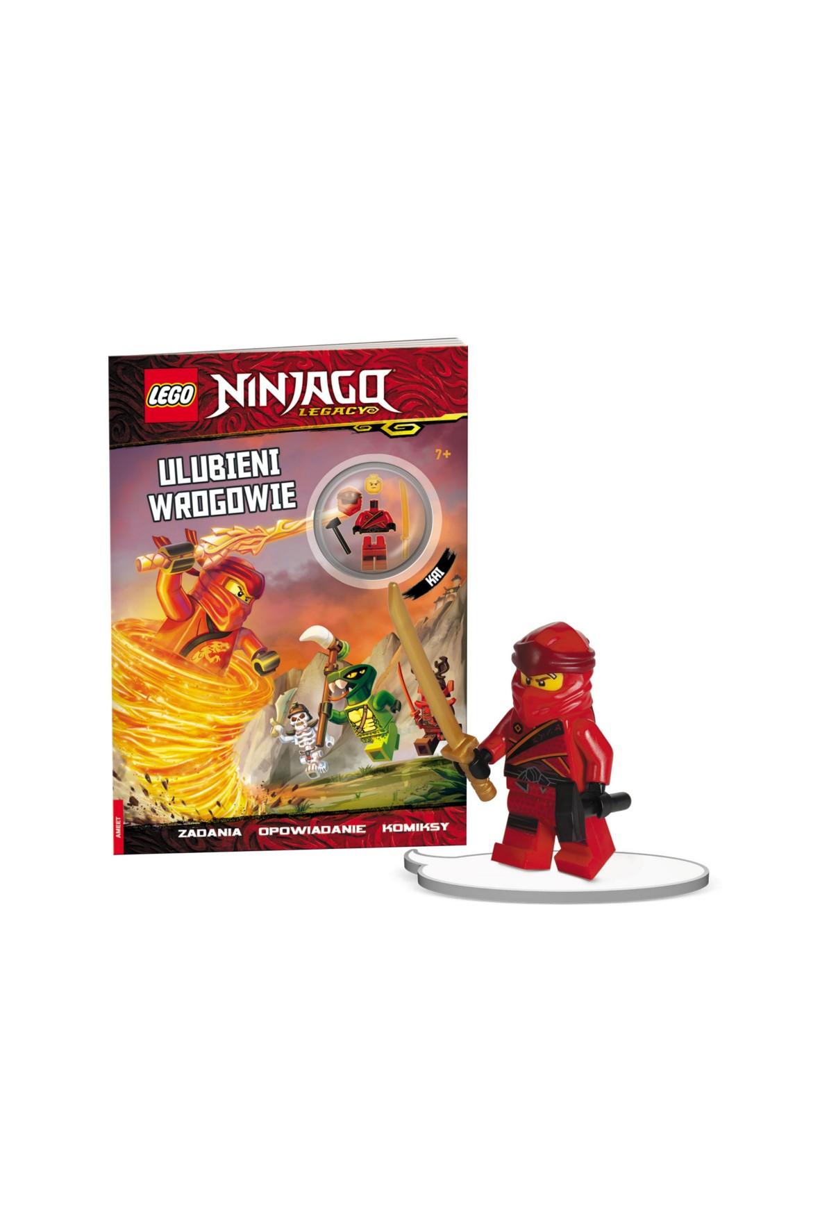 Książka Lego Ninjago. Ulubieni Wrogowie
