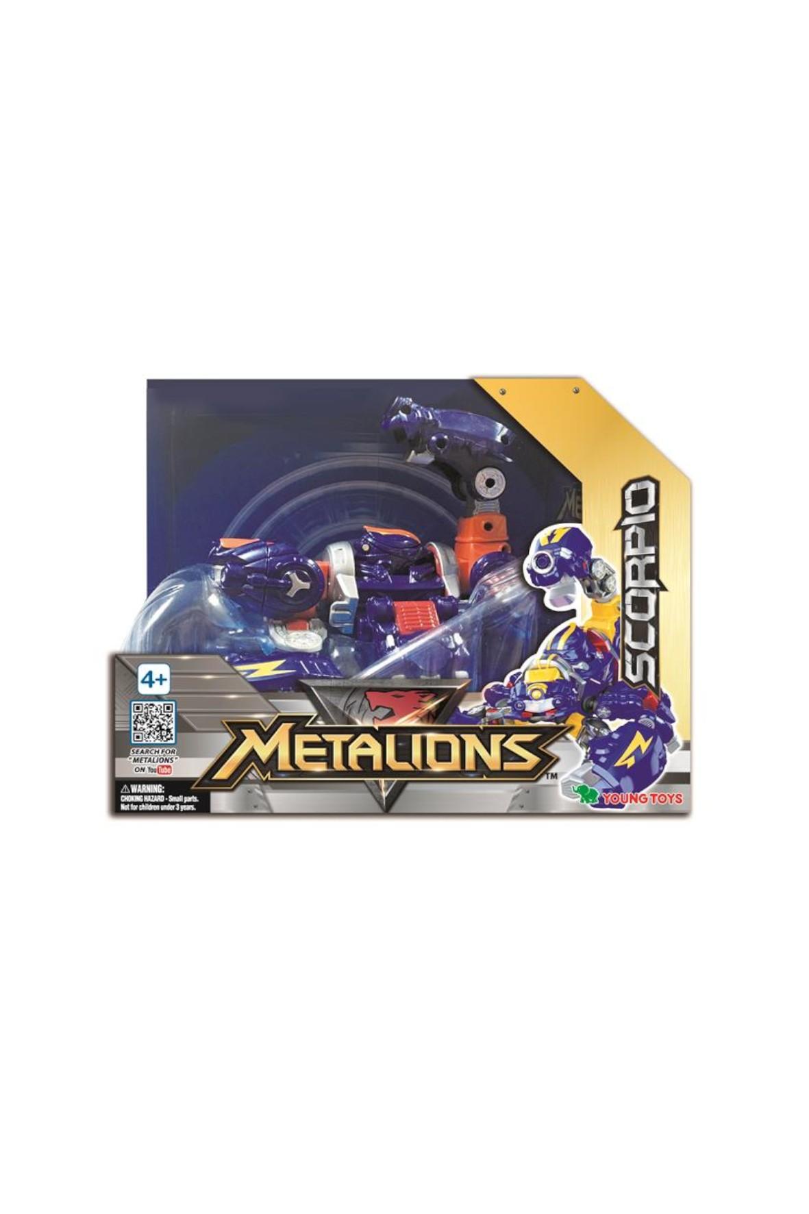 Metalions Scorpio Robot figurka wiek 4+