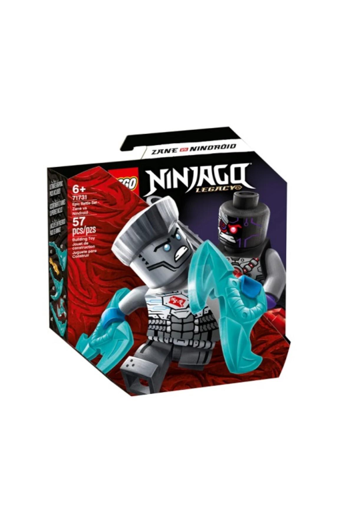 LEGO Ninjago - Epicki zestaw bojowy - Zane kontra Nindroid - 57 el