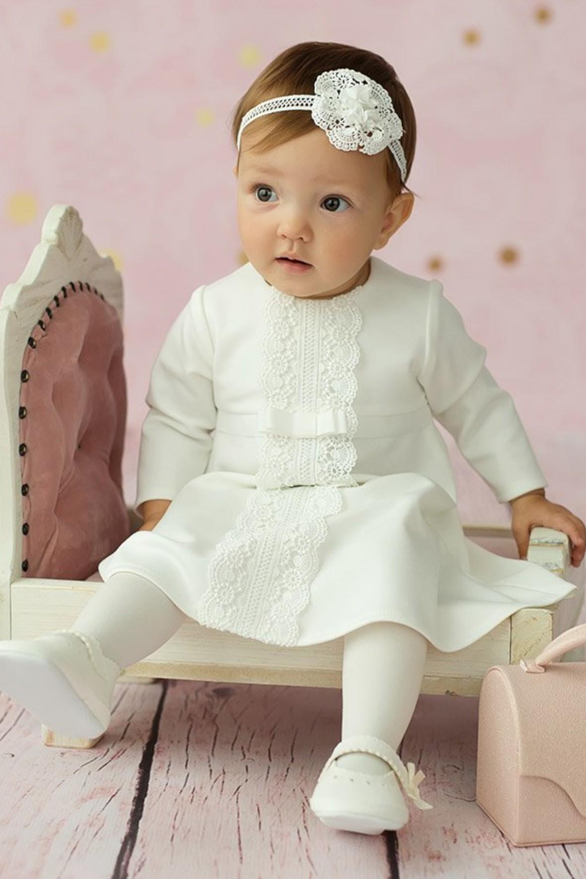 Sukienka niemowlęca na chrzest