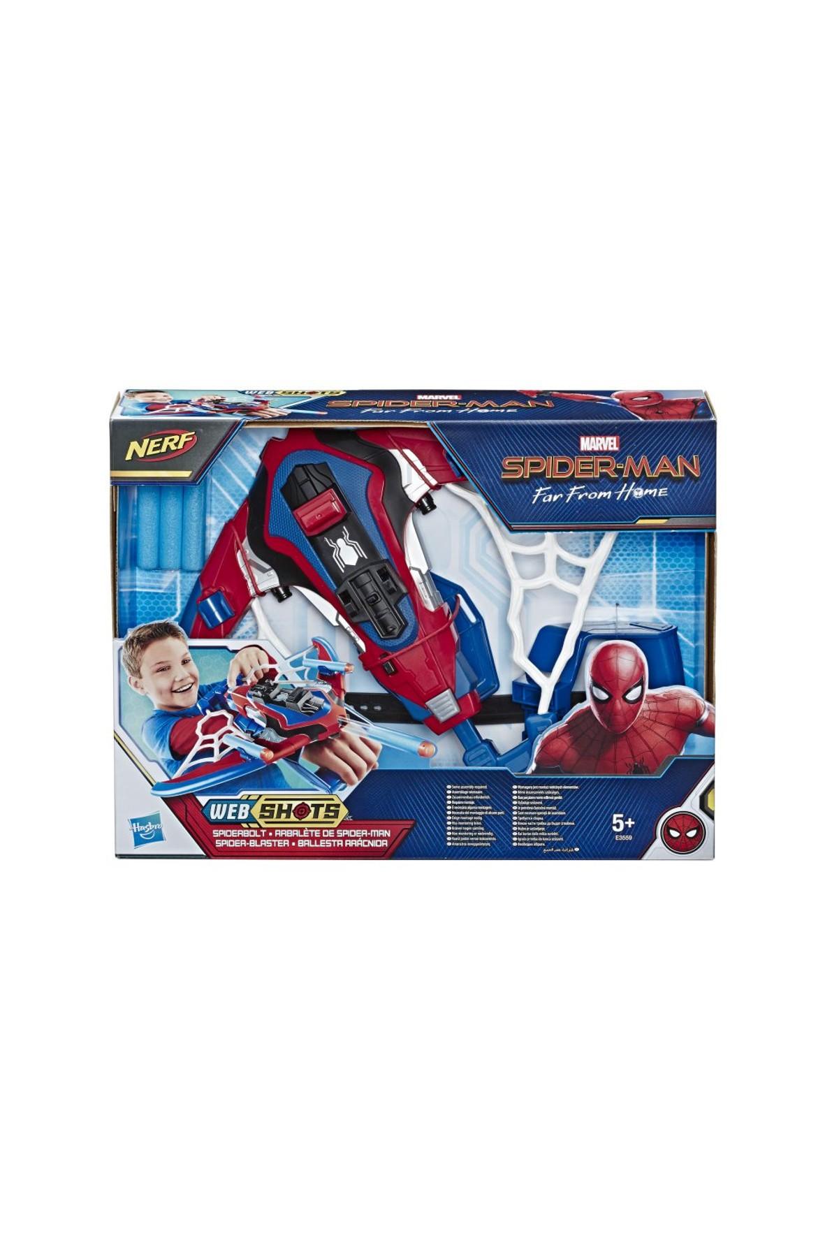 Spiderman Mini wyrzutnia pajęczej sieci Nerf 5+