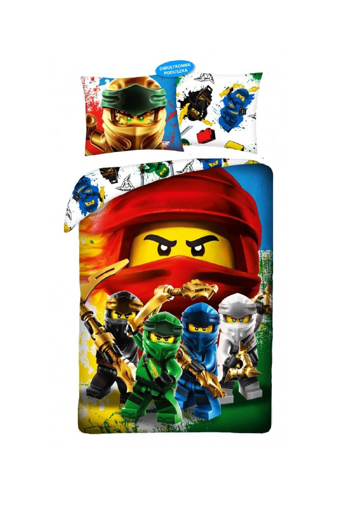 Pościel bawełniana LEGO NINJAGO 140x200