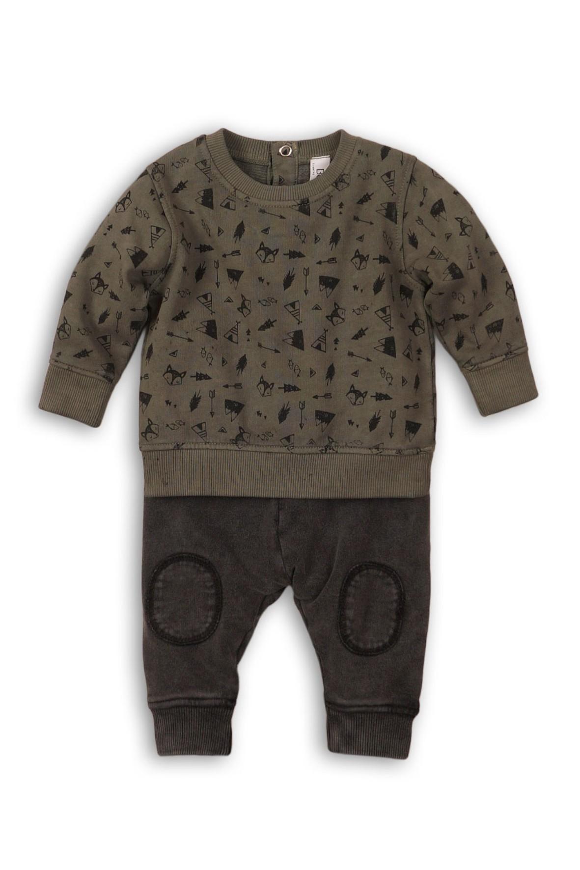 Komplet chłopięcy bluza dresowa i spodnie dresowe