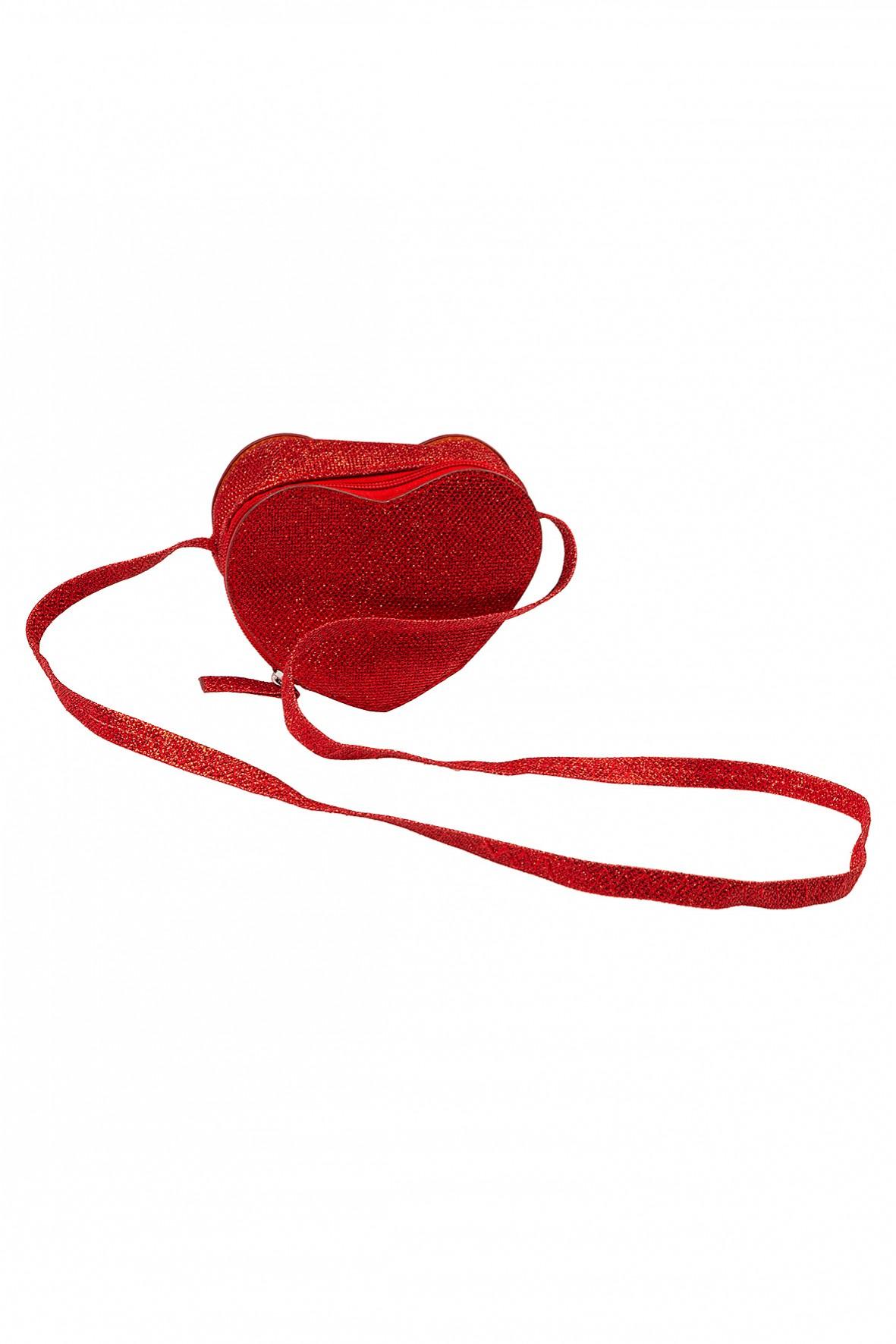 Torebka dziewczęca w kształcie serca