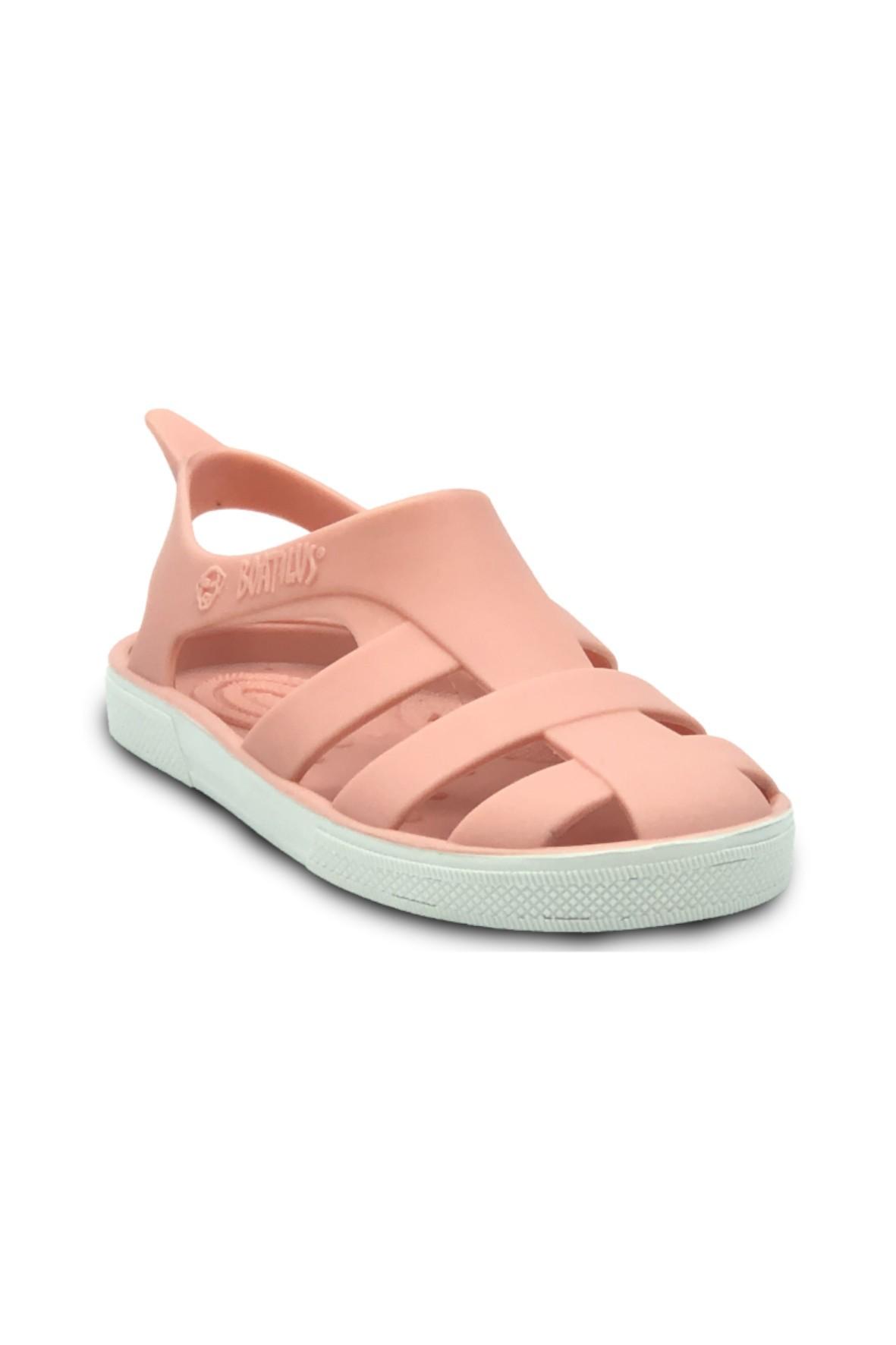 Różowe sandałki dziewczęce-zapach startej skórki cytryny