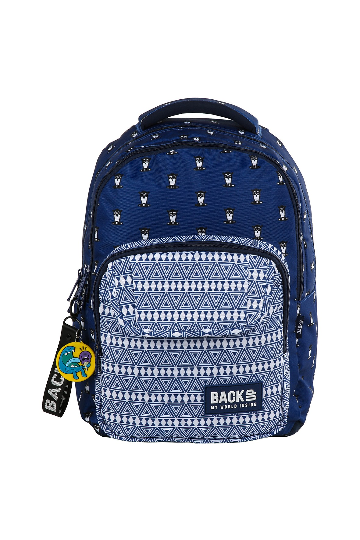 Plecak BACKUP  - niebieski
