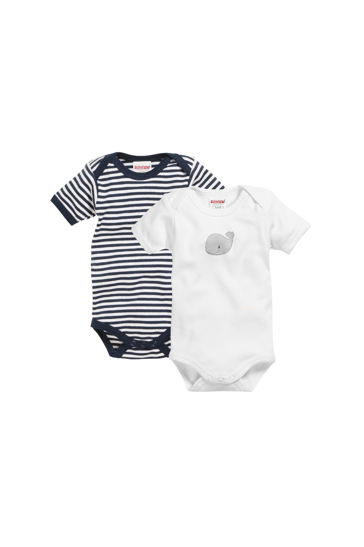 Body dla niemowlaka 2pak-wieloryb