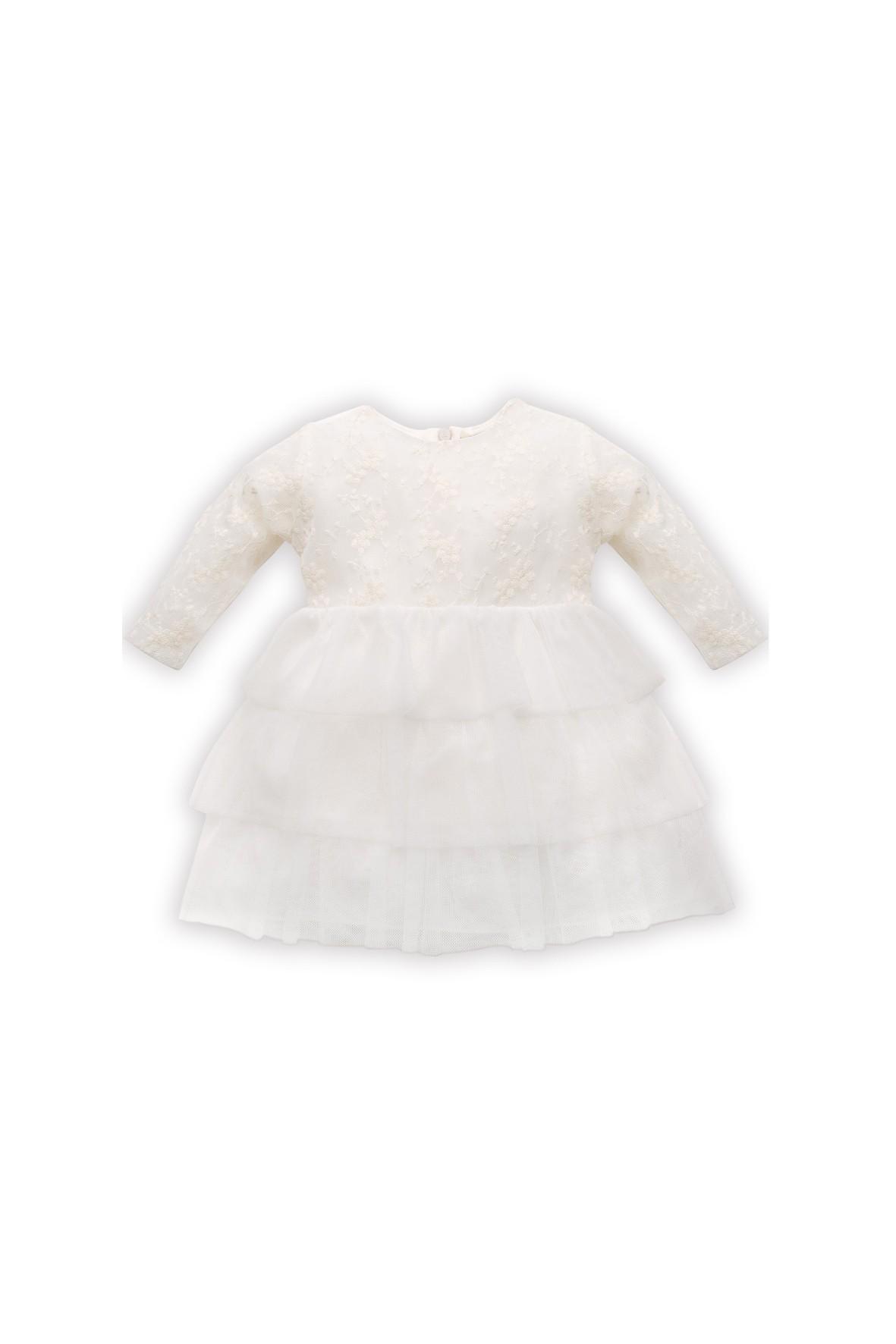 Koronkowa sukienka dla niemowlaka Princess ecru