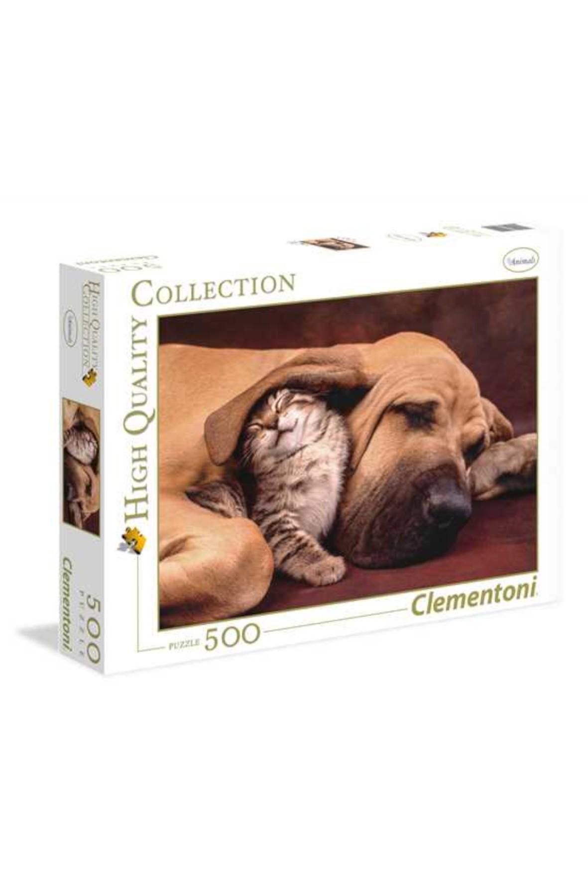 Puzzle Pies z Kotem Clementoni - 500 el