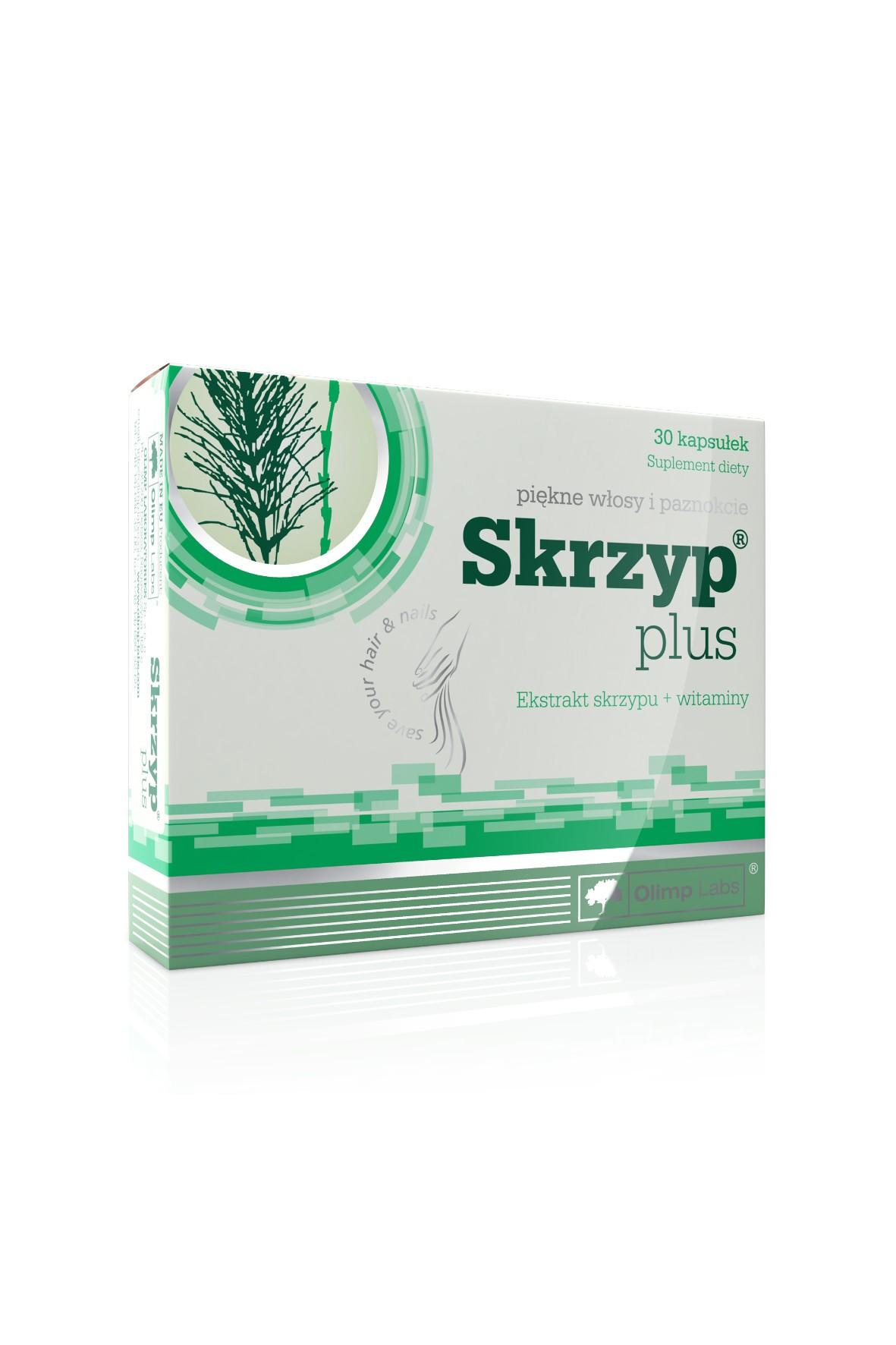 OLIMP Skrzyp Plus blistry na włosy i paznokcie 30 kapsułek